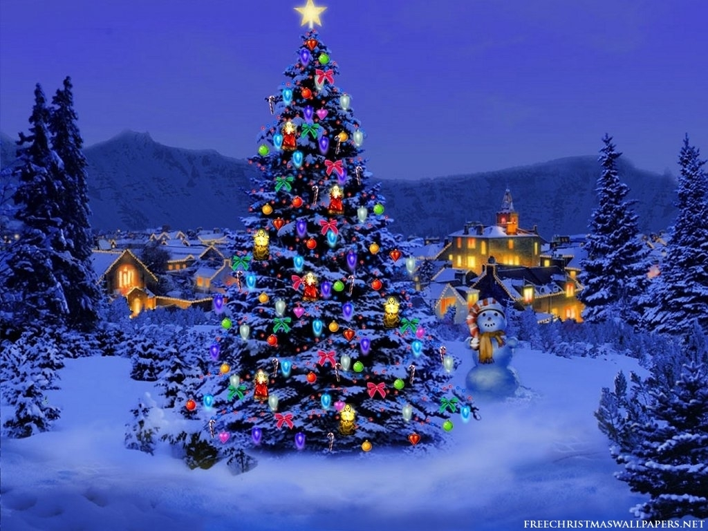 christmas tree wallpaper christmas 8142630 1024 768